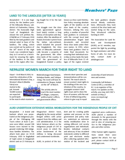 ILC Asia Newsletter (March 2010, Page 3)