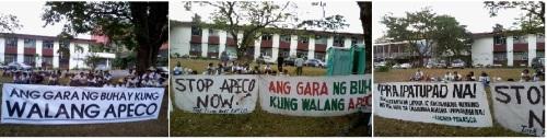 Anti-APECO marchers
