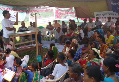 Abhiyan organizes awareness and training camps in Sunsari
