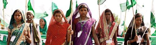 Jansatyagraha 2012 (Credits: Ekta Parishad)