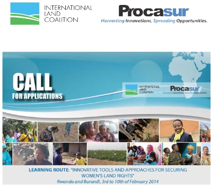 ILC - PROCASUR CALL FOR APPLICATIONS
