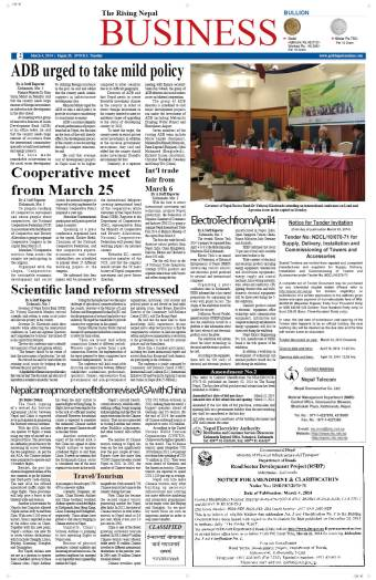 """Scientific Land Reform Stressed"""